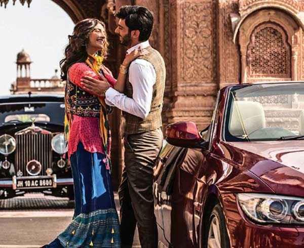 Khoobsurat 2014 Sonam Kapoor Fawad Khan Romance Pics Stills