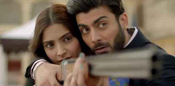 Khoobsurat 2014 Sonam Kapoor Fawad Khan Stills