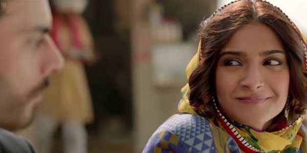 Khoobsurat 2014 Sonam Kapoor Moving Eyes Stills