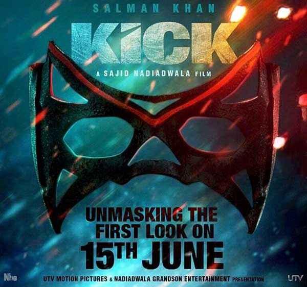 Kick Mask Poster