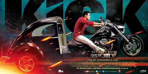 Kick Salman Khan Bike Poster