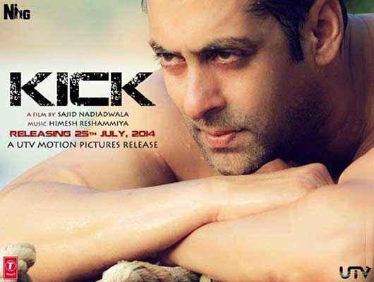 Kick Salman Khan Body Poster