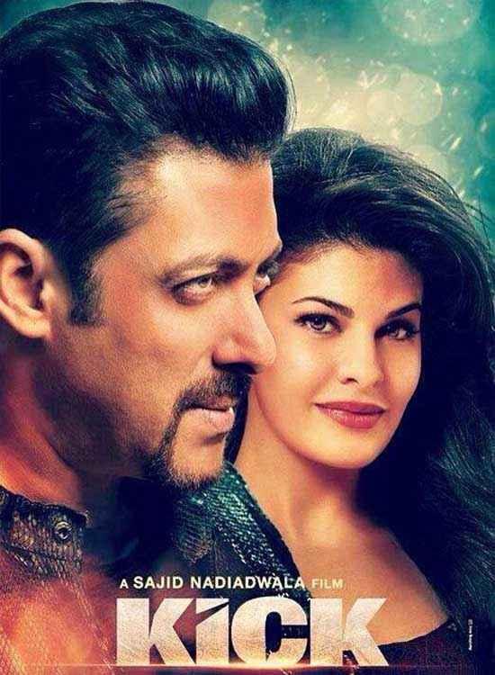 Kick Salman Khan Jacqueline Fernandez Poster