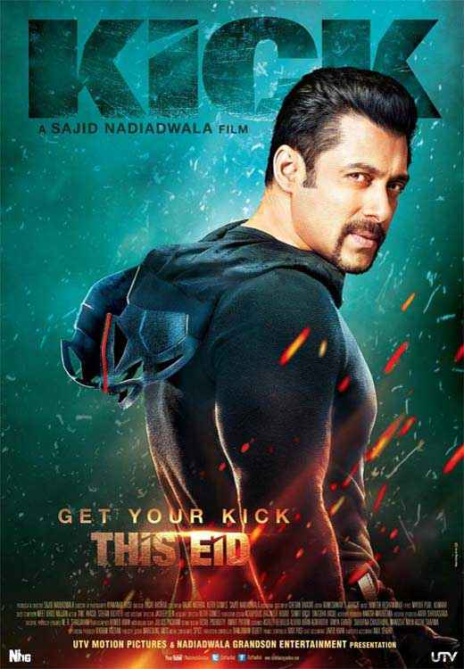 Kick Salman Khan Latest Poster