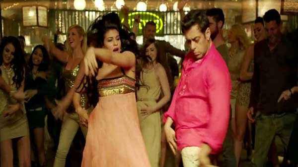Kick Jacqueline Fernandez Salman Khan Dance Stills
