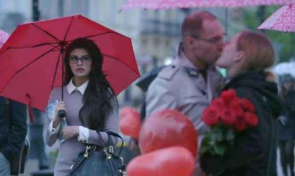 Kick Jacqueline Fernandez With Umbrella Stills