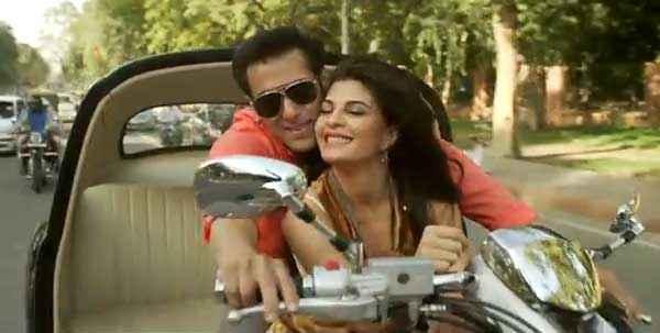 Kick Salman Khan Jacqueline Fernandez Romance Stills