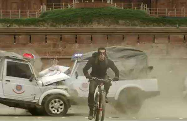 Kick Salman Khan Stunt Action Stills