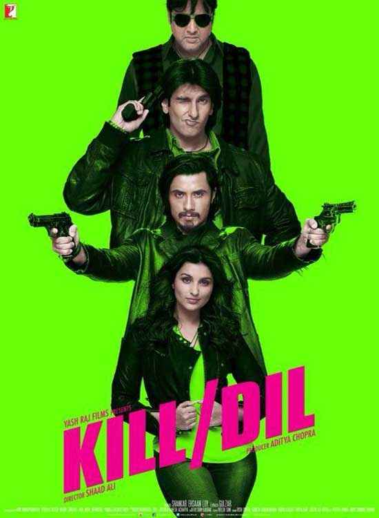 Kill Dil First Look Poster