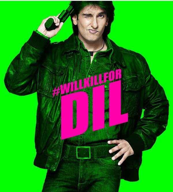 Kill Dil Ranveer Singh Poster