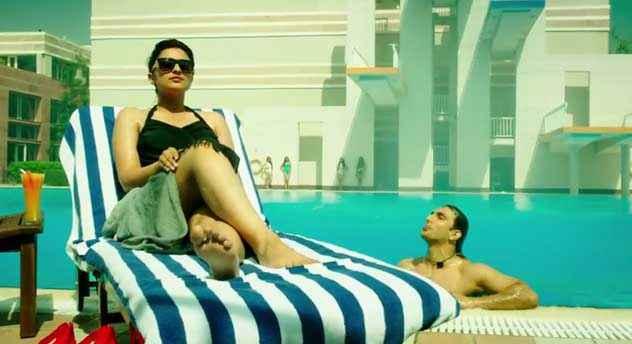 Kill Dil Parineeti Chopra In Bikini Stills