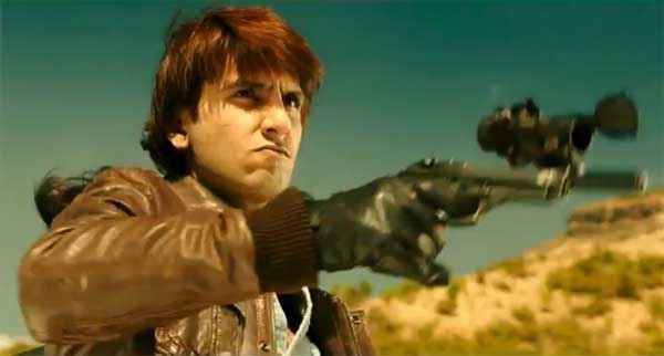 Kill Dil Ranveer Singh With Gun Stills