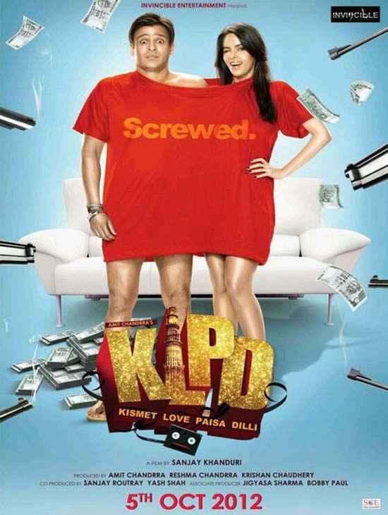 Kismat Love Paisa Dilli Hot Poster