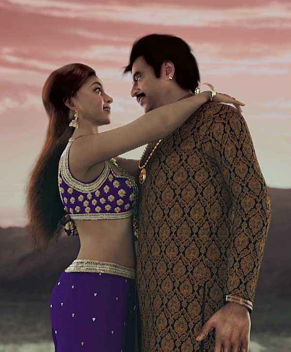 Kochadaiyaan Deepika Padukone Rajinikanth Stills