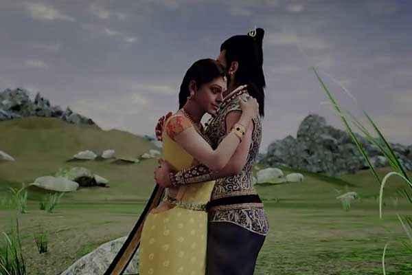 Kochadaiyaan Rajinikanth Deepika Padukone Romantic Scene Stills