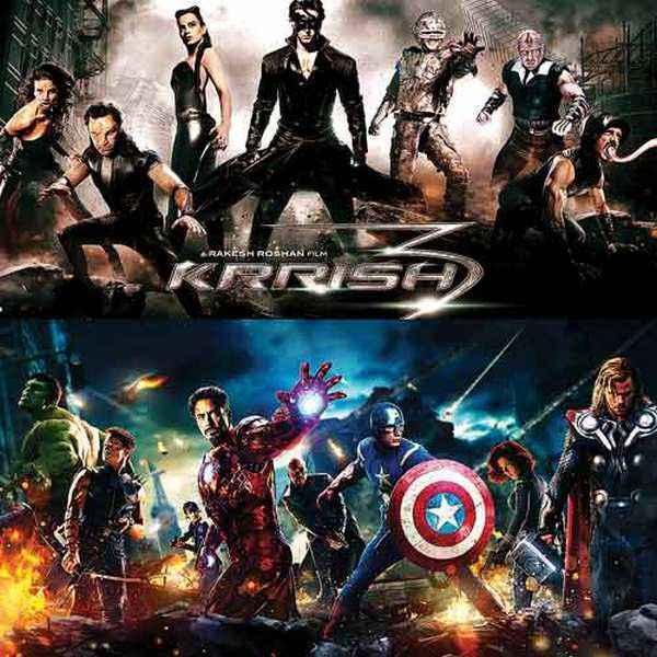 Krrish 3 Avengers DNA Poster