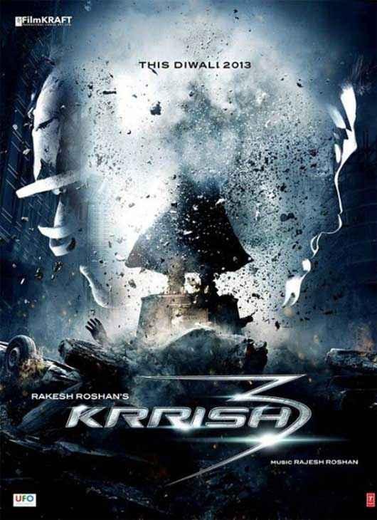 Krrish 3 First Look Wallpaper Poster