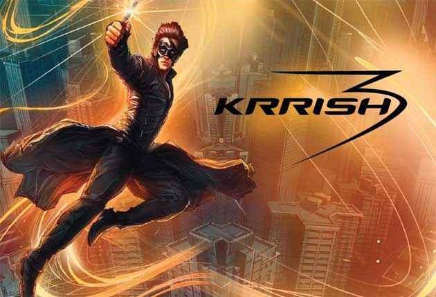 Krrish 3 Hrithik Roshan HD Wallpapers Poster