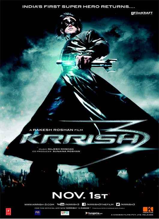Krrish 3 Hrithik Roshan HD Poster