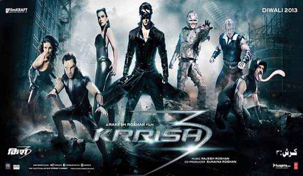 Krrish 3 Wallpaper Poster