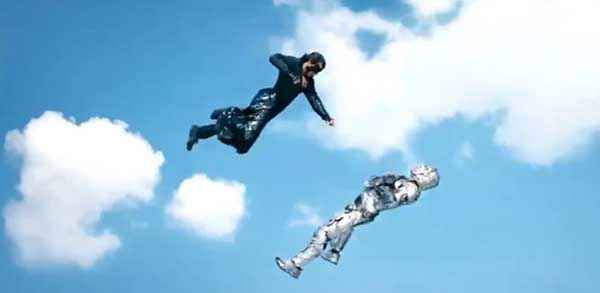 Krrish 3 Hrithik Roshan Flying Fiting Stills