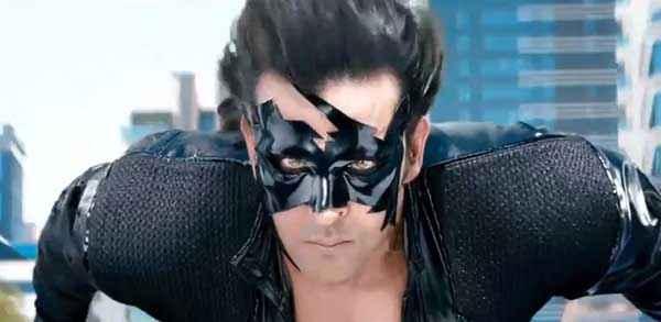Krrish 3 Hrithik Roshan With Mask Stills
