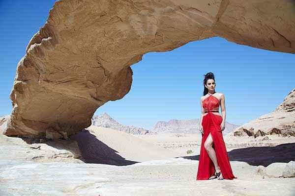 Krrish 3 Kangana Ranaut Red Dress Stills