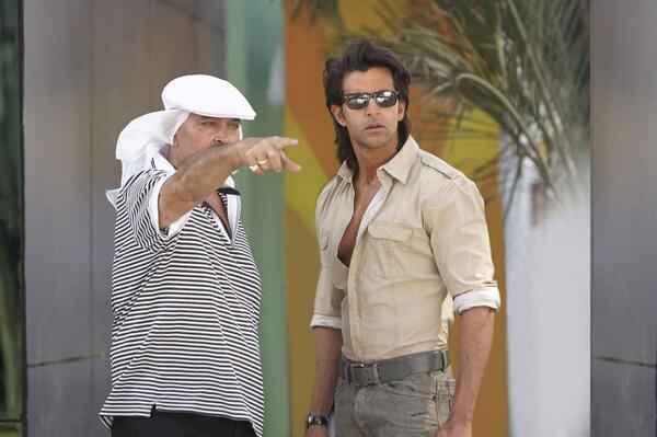 Krrish 3 Rakesh Roshan Hrithik Roshan On Set Stills