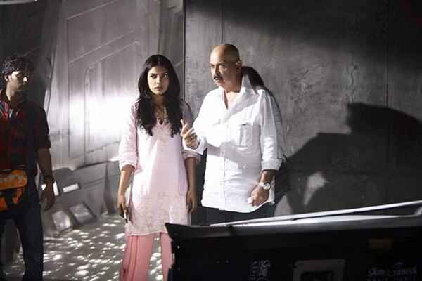 Krrish 3 Rakesh Roshan Priyanka Chopra On Set Stills