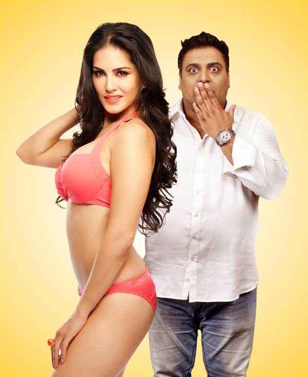 Kuch Kuch Locha Hai Sunny Leone In Red Bikini With Ram Kapoor Stills