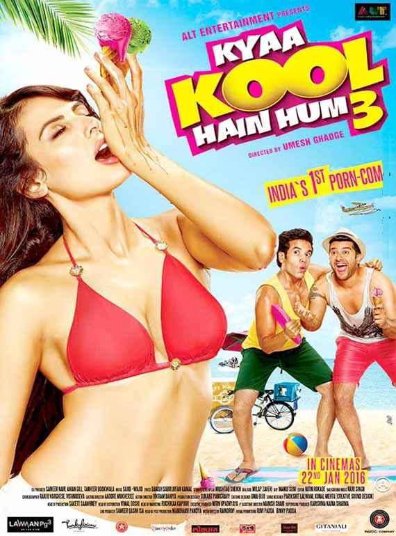 Kyaa Kool Hain Hum 3 Hot Mandana Karimi Poster
