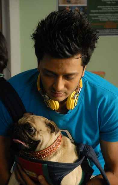 Kyaa Super Kool Hain Hum Riteish Deshmukh With Dog Stills