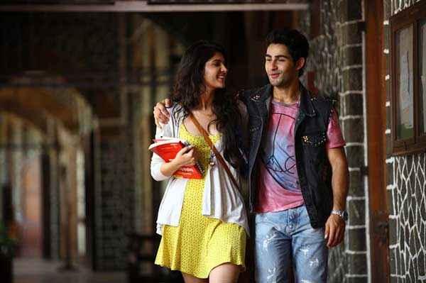 Lekar Hum Deewana Dil Deeksha Seth In Yellow Skirt With Armaan Jain  Stills