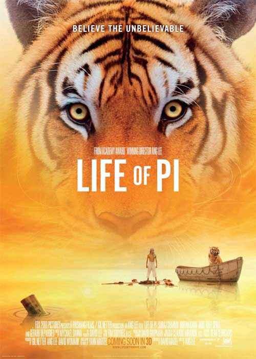 Life Of Pi Pics Poster