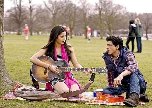 London Ishq Shahrukh Khan Katrina Kaif Romantic Scene Stills