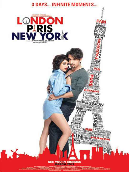London Paris New York image Poster