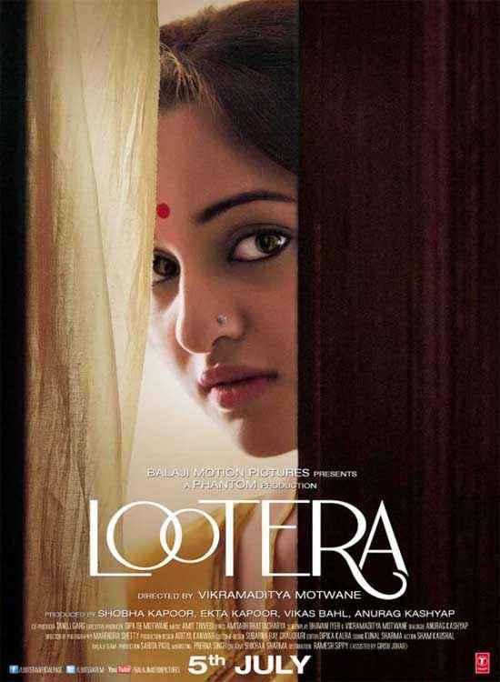 Lootera Sonakshi Sinha Poster