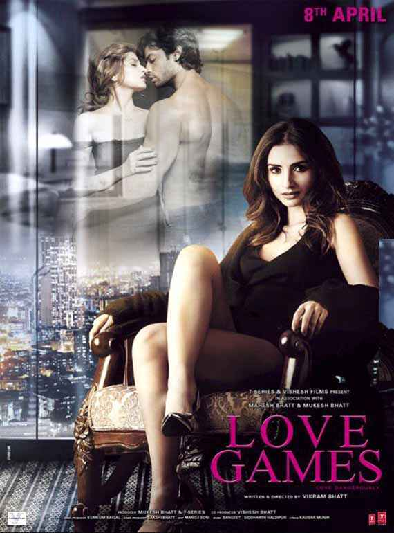 Love Games Patralekha Hot Poster