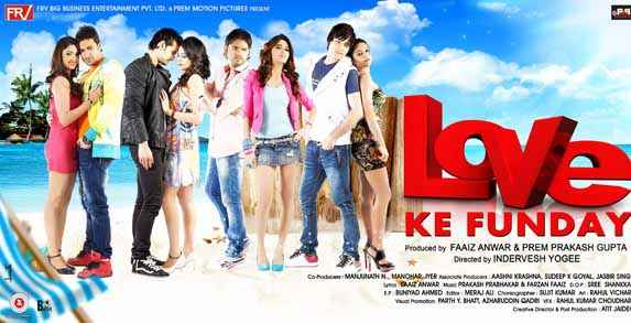 Love Ke Funday Image Poster