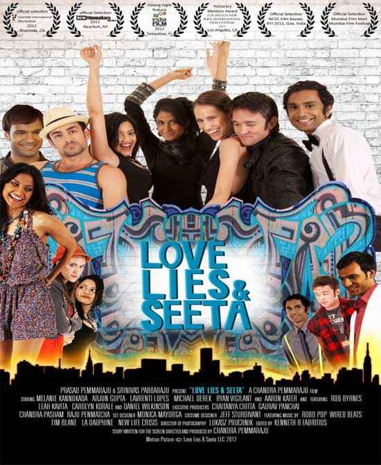 Love Lies & Seeta  Poster