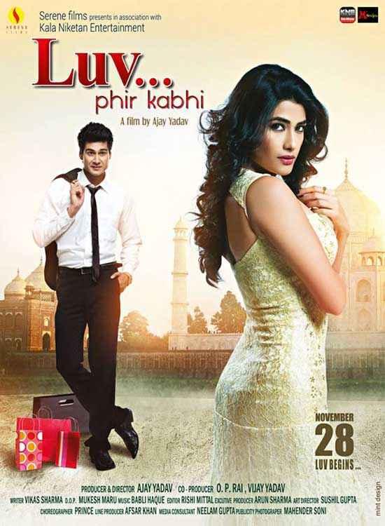 LUV Phir Kabhie Sourav Roy Vidya Malvade Romance Poster