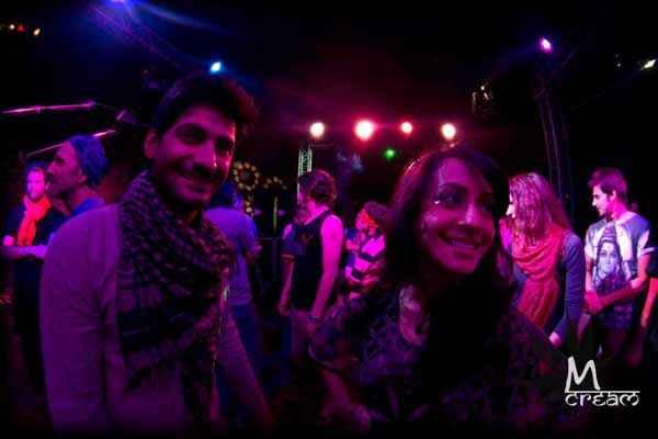 M Cream Raaghav Chanana Auritra Ghosh In Party Stills