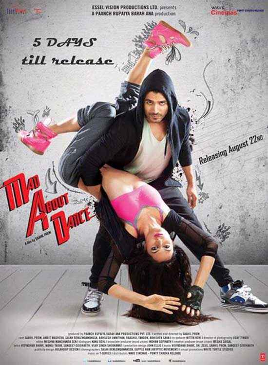 MAD About Dance Amrit Maghera Saahil Prem Poster