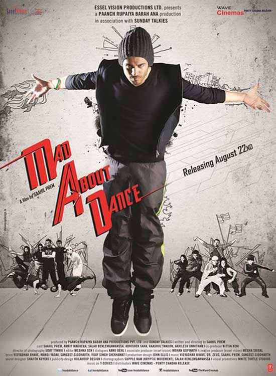 MAD About Dance Saahil Prem Poster