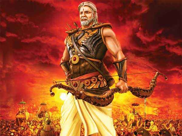 Mahabharat 3D Amitabh Bachchan Stills