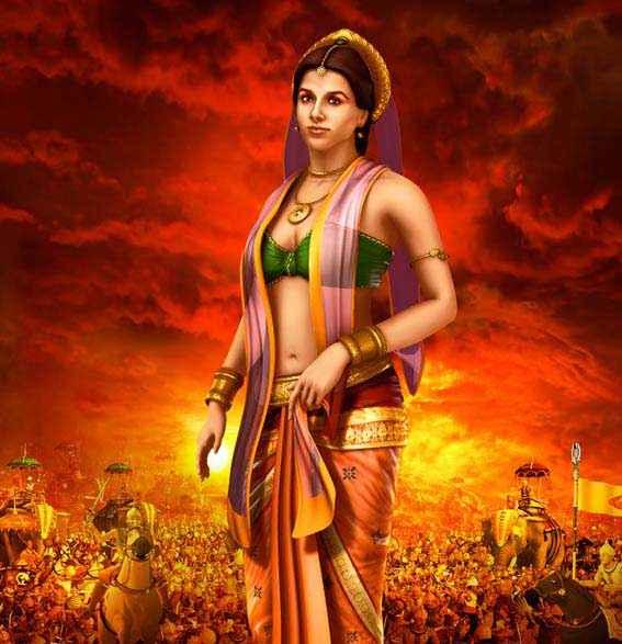 Mahabharat 3D Vidya Balan Stills