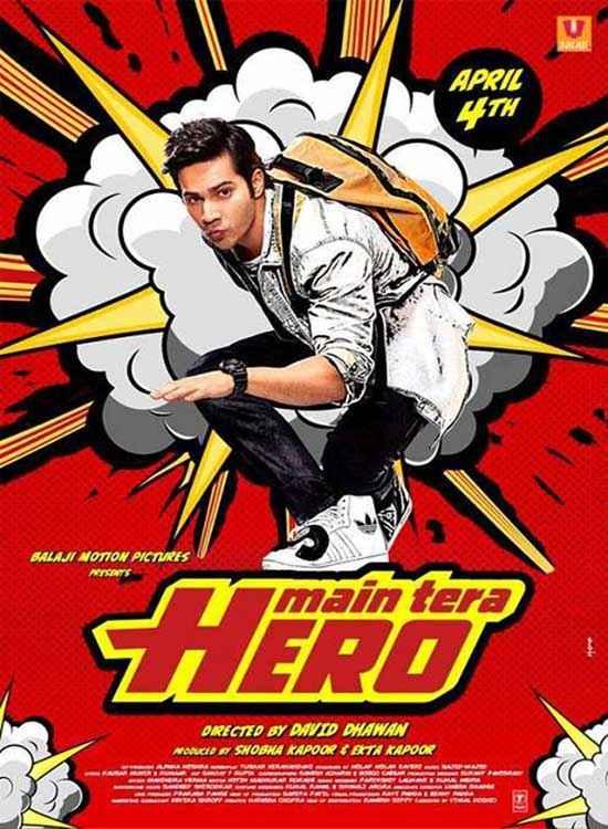 Main Tera Hero Varun Dhawan Wallpaper Poster