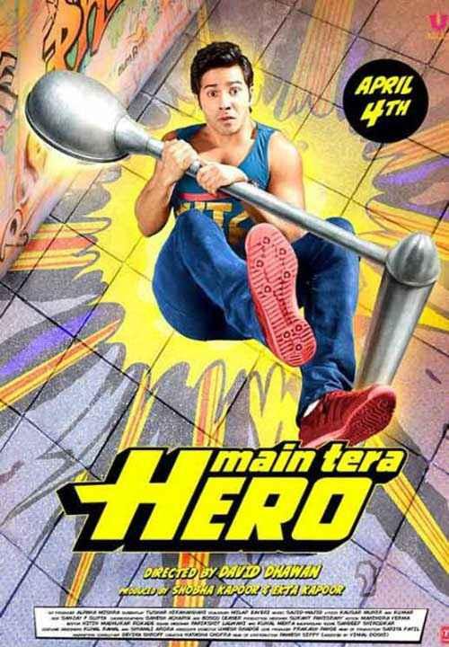 Main Tera Hero Varun Dhawan Poster