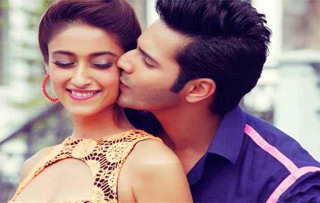 Main Tera Hero Varun Dhawan Ileana Dcruz Kiss Scene Stills
