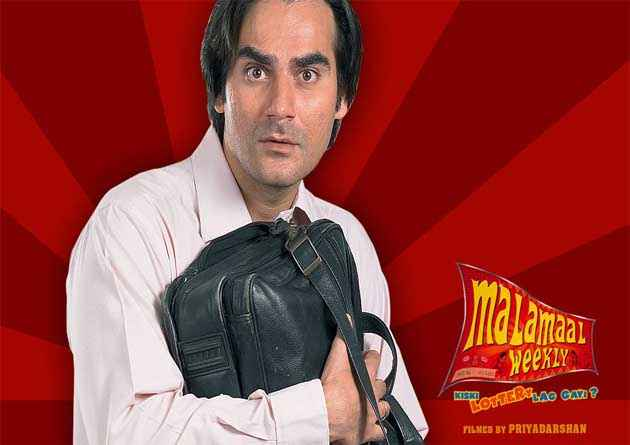 Malamaal Weekly Arbaaz Khan Poster